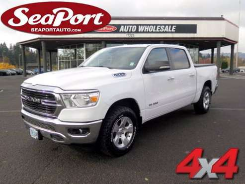 2019 Ram 1500 Big Horn 4WD Crew Cab Truck *Like New* - cars & trucks... for sale in Portland, OR