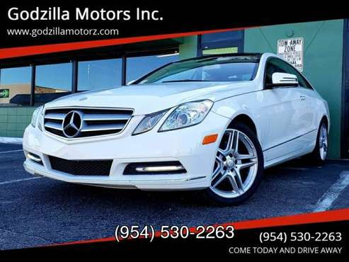 2013 Mercedes-Benz E-Class E 350 2dr Coupe for sale in Ft Lauderdale , FL