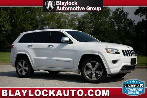 2015 JEEP GRAND CHEROKEE OVERLAND* LOADED* 4X4* SUPER CLEAN CARFAX* for sale in High Point, TN