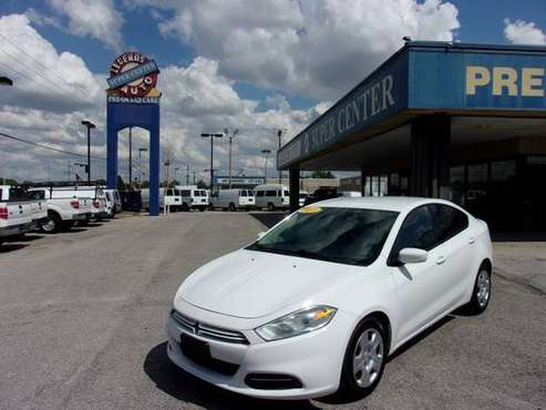 2015 Dodge Dart 4dr Sdn SE - cars & trucks - by dealer - vehicle... for sale in Bethany, OK