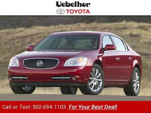 2006 Buick Lucerne CXS sedan Ming Blue Metallic for sale in Jasper, IN