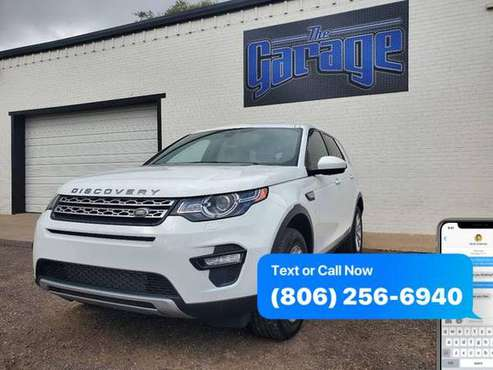 2016 Land Rover Discovery Sport HSE AWD 4dr SUV -GUARANTEED CREDIT... for sale in Lubbock, TX