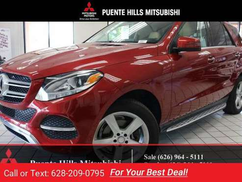 2016 Mercedes Benz GLE350 *Navi*38k*Warranty* for sale in City of Industry, CA