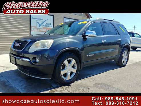 **3RD-ROW SEATING!! 2007 GMC Acadia FWD 4dr SLT for sale in Chesaning, MI