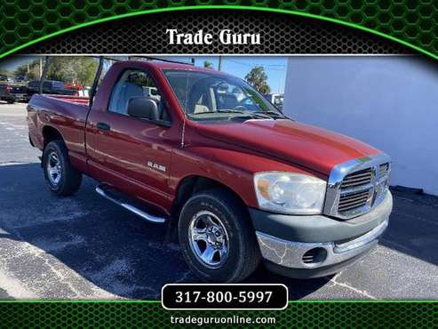 2008 Dodge Ram 1500 2WD Reg Cab 120.5 ST - cars & trucks - by dealer... for sale in Venice, FL