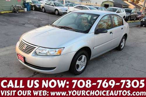 2005 *SATURN* *ION 1* 1OWNER GAS SAVER CD GOOD TIRES 105986 for sale in posen, IL
