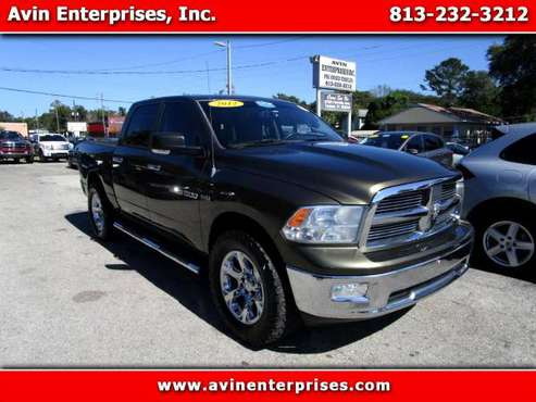2012 RAM 1500 SLT Crew Cab 4WD BUY HERE / PAY HERE !! - cars &... for sale in TAMPA, FL