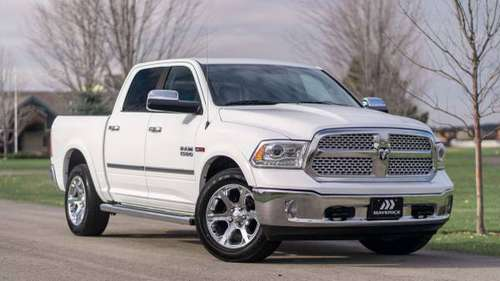 2015 Ram 1500 Diesel 4x4 4WD Truck Dodge Laramie Crew Cab - cars &... for sale in Boise, ID