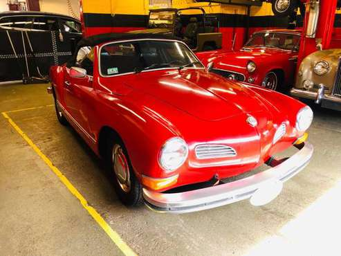 1973 VW KARMAN GHIA CABRIOLET SPECIAL ORDER for sale in Bellingham, MA