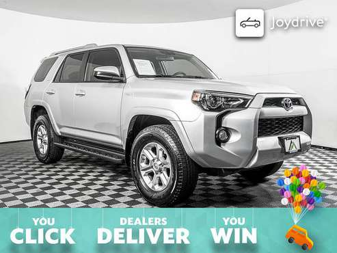 2018-Toyota-4Runner-SR5-Manual Transfer Case for sale in PUYALLUP, WA