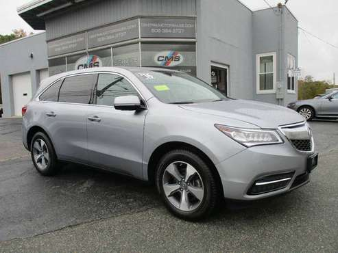2016 *Acura* *MDX* *SH-AWD 4dr* Lunar Silver Metalli for sale in Wrentham, MA