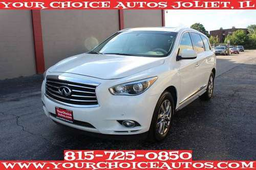 2013 *INFINITI*JX35* 92K 1OWNER LEATHER SUNROOF NAVI GOOD TIRES 306232 for sale in Joliet, IL