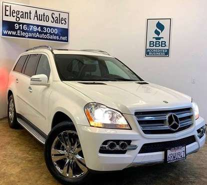 2011 Mercedes-Benz GL-Class 4MATIC GL450 * 95K LOW MILES * WARRANTY * for sale in Rancho Cordova, CA