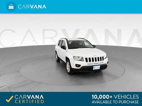 2017 Jeep Compass Sport SUV 4D suv White - FINANCE ONLINE for sale in Charlotte, NC