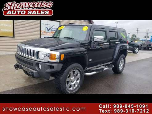 LEATHER 2007 HUMMER H3 4WD 4dr SUV for sale in Chesaning, MI