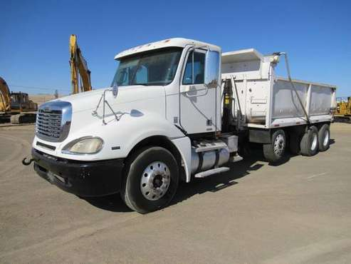 2008 Freightliner Columbia T/A 16' Dump Truck for sale in Coalinga, AZ