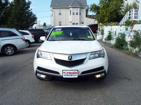 2012 ACURA MDX Technology Package White for sale in Lawrence MA, MA