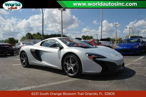 2015 McLaren 650s Spider S $729 DOWN $505/WEEKLY for sale in Orlando, FL