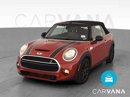 2016 MINI Convertible Cooper S Convertible 2D Convertible Red - -... for sale in Atlanta, CA