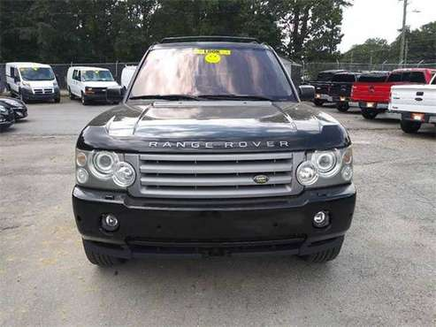 2008 Land Rover Range Rover SUV HSE 4x4 4dr SUV - Black for sale in Norcross, GA
