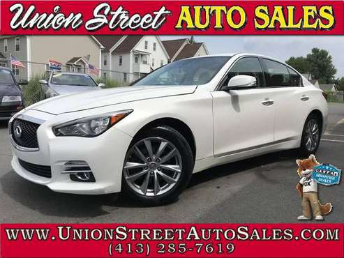REDUCED!! 2014 INFINTI Q50 PREMIUM AWD!! LOADED!!-western massachusett for sale in West Springfield, MA