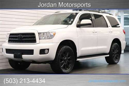 2013 TOYOTA SEQUOIA LIMITED 4X4 LIFTED 1-OWNER 2012 2011 2010 2014 for sale in Portland, OR