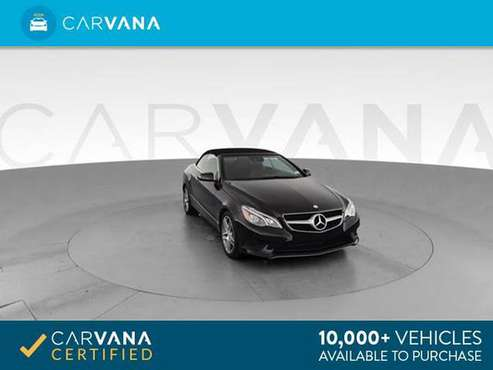 2014 Mercedes-Benz E-Class E 350 Cabriolet 2D Convertible Black - for sale in Indianapolis, IN
