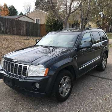 2007 Jeep Grand Cherokee Overland 4x4 113k miles for sale in Aurora, CO