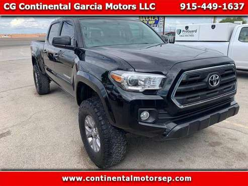 2016 Toyota Tacoma SR5 Double Cab Super Long Bed V6 6AT 4WD for sale in El Paso, TX