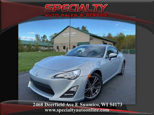 2013 Scion FRS! 10 Series! 6 Speed Manual! Non Smoker! Bluetooth! for sale in Suamico, WI