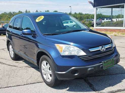 2009 Honda CR-V EX-L AWD, 128K, Auto, AC, CD, Alloys, Leather, Sunroof for sale in Belmont, ME