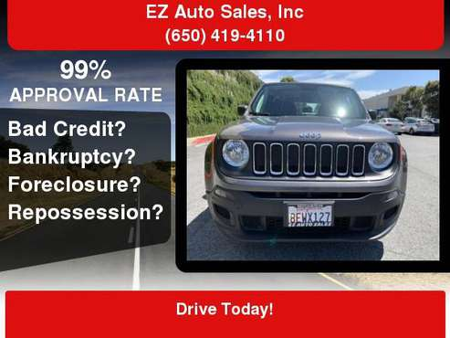 2018 Jeep Renegade Sport 4dr SUV for sale in Daly City, CA
