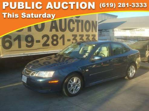 2006 Saab 9-3 Public Auction Opening Bid for sale in Mission Valley, CA