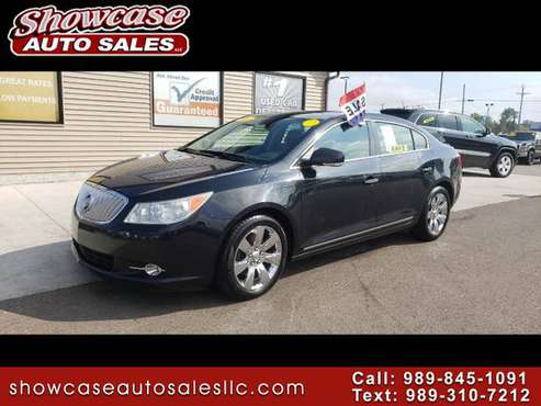 LEATHER!! 2011 Buick LaCrosse 4dr Sdn CXL FWD for sale in Chesaning, MI