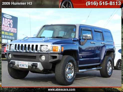 2009 Hummer H3 4WD SUV for sale in Sacramento , CA