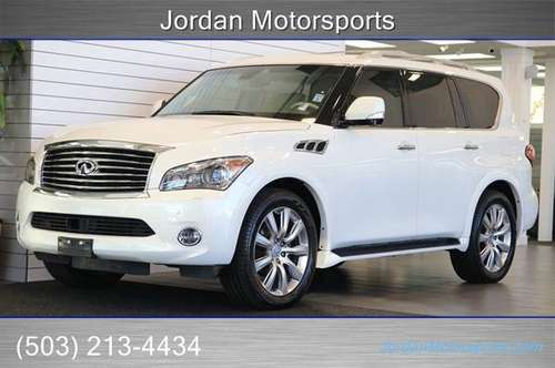 2011 INFINITI QX56 1-OWNER TOURING-THEATRE-PKG 22WHEELS DVD 2012 2013 for sale in Portland, OR