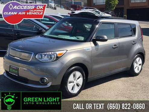 2016 Kia Soul EV SUN & FUN PACKAGE HOV QUALIFIER-peninsula for sale in Daly City, CA