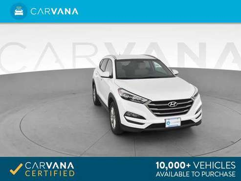2016 Hyundai Tucson SE Sport Utility 4D suv White - FINANCE ONLINE for sale in Pittsburgh, PA