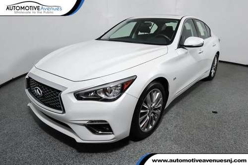 2018 INFINITI Q50, Majestic White for sale in Wall, NJ