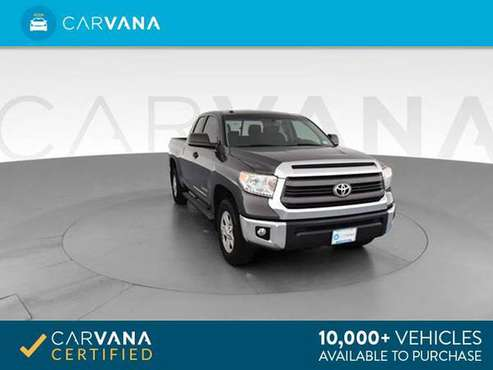 2014 Toyota Tundra Double Cab SR5 Pickup 4D 6 1/2 ft pickup Gray - for sale in Indianapolis, IN