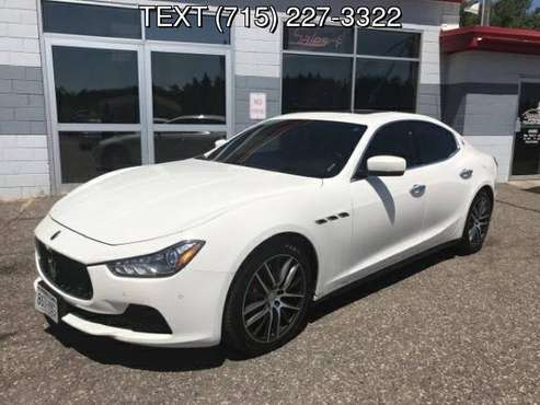 2014 MASERATI GHIBLI S Q4 for sale in Somerset, WI