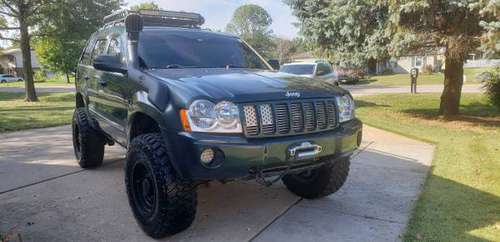 2005 Jeep Grand Cherokee Limited Lifted for sale in Trenton, OH