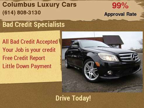 2008 Mercedes-Benz C-Class 4dr Sdn 3.5L Sport RWD Finance Made Easy... for sale in Columbus, OH