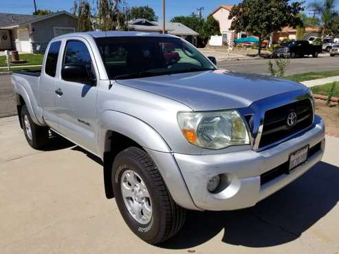 2007 TOYOTA TACOMA PRERUNNER V6 SR5 TRD PACKAGE for sale in Simi Valley, CA