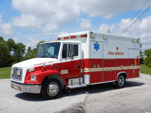 2004 Freightliner FL60 Ambulance Mercedes Benz Diesel FL Truck Taylor for sale in West Palm Beach, FL