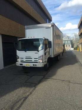 2012 ISUZU NPR HD 20FT DRY BOX + NO CDL for sale in Linden, NJ