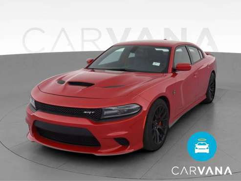 2016 Dodge Charger SRT Hellcat Sedan 4D sedan Red - FINANCE ONLINE -... for sale in Washington, District Of Columbia