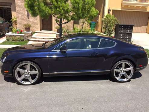 Bentley GT Continental For Sale for sale in Foothill Ranch, CA