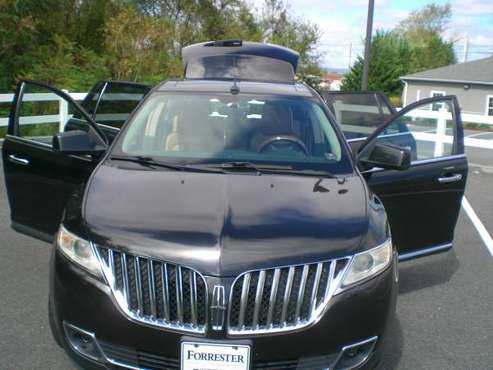 2011 LINCOLN, MKX ,AWD,NAVIGATION,DVD,135000 mile, NEW INSP,DVD for sale in Shippensburg, PA