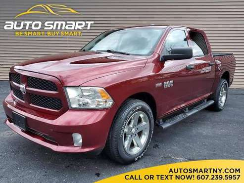 18 RAM 1500 Tradesman Crew Cab, 4WD, V8 Hemi, Mint! 43K! We Finance!... for sale in binghamton, NY